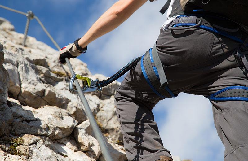 Klettersteigset Tipps : Tipps für sicherheit am klettersteig vivohochpustertal